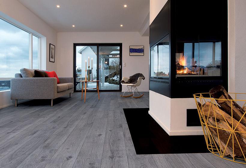 Hdf Laminate Flooring Glued Home Tertiary Original