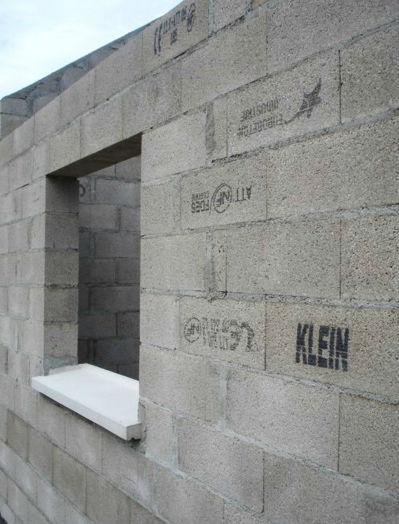 Concrete window sill / exterior - EUROBETON INDUSTRIE