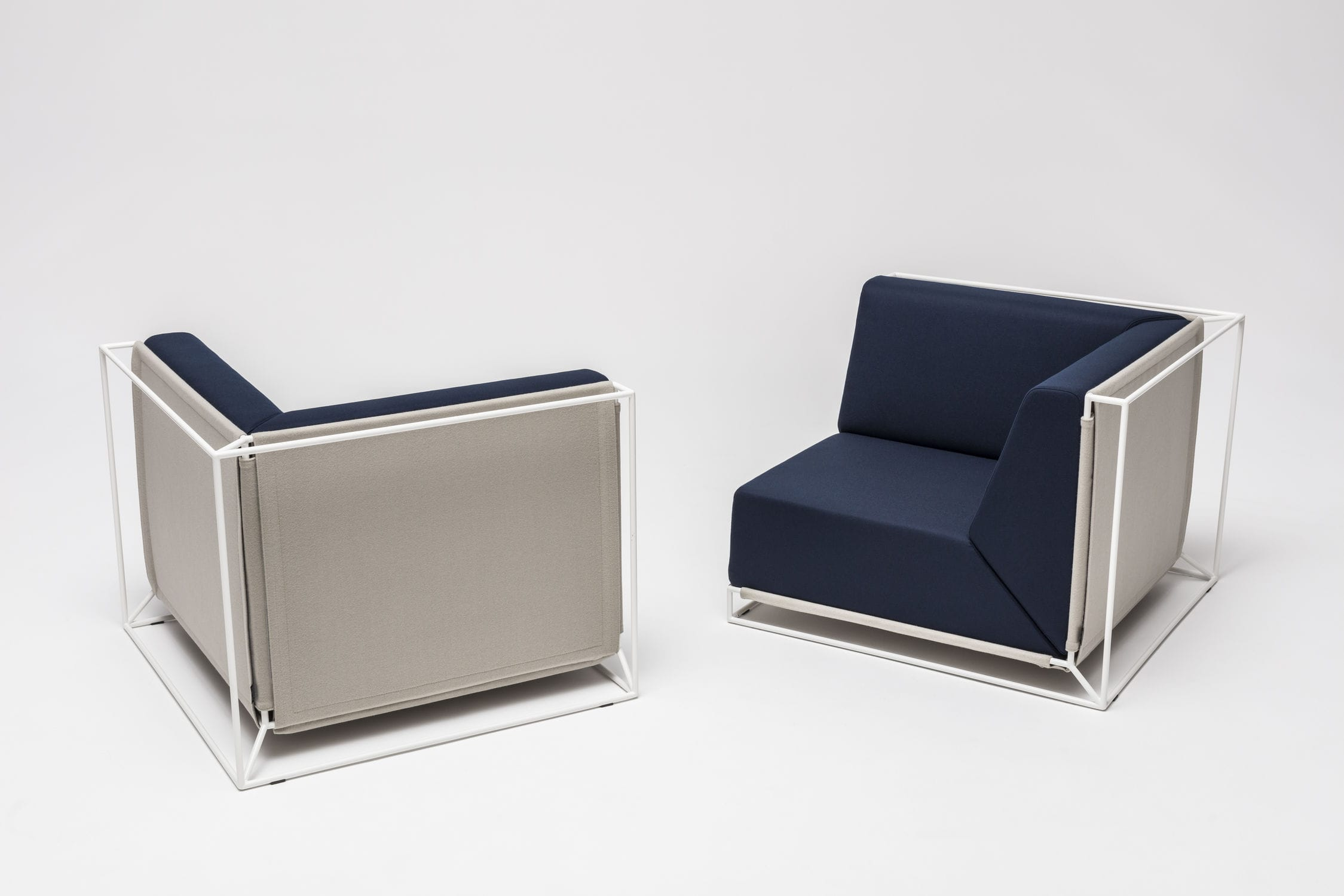Exceptional Modular Sofa / Contemporary / Fabric / By Philippe Nigro ... Good Ideas