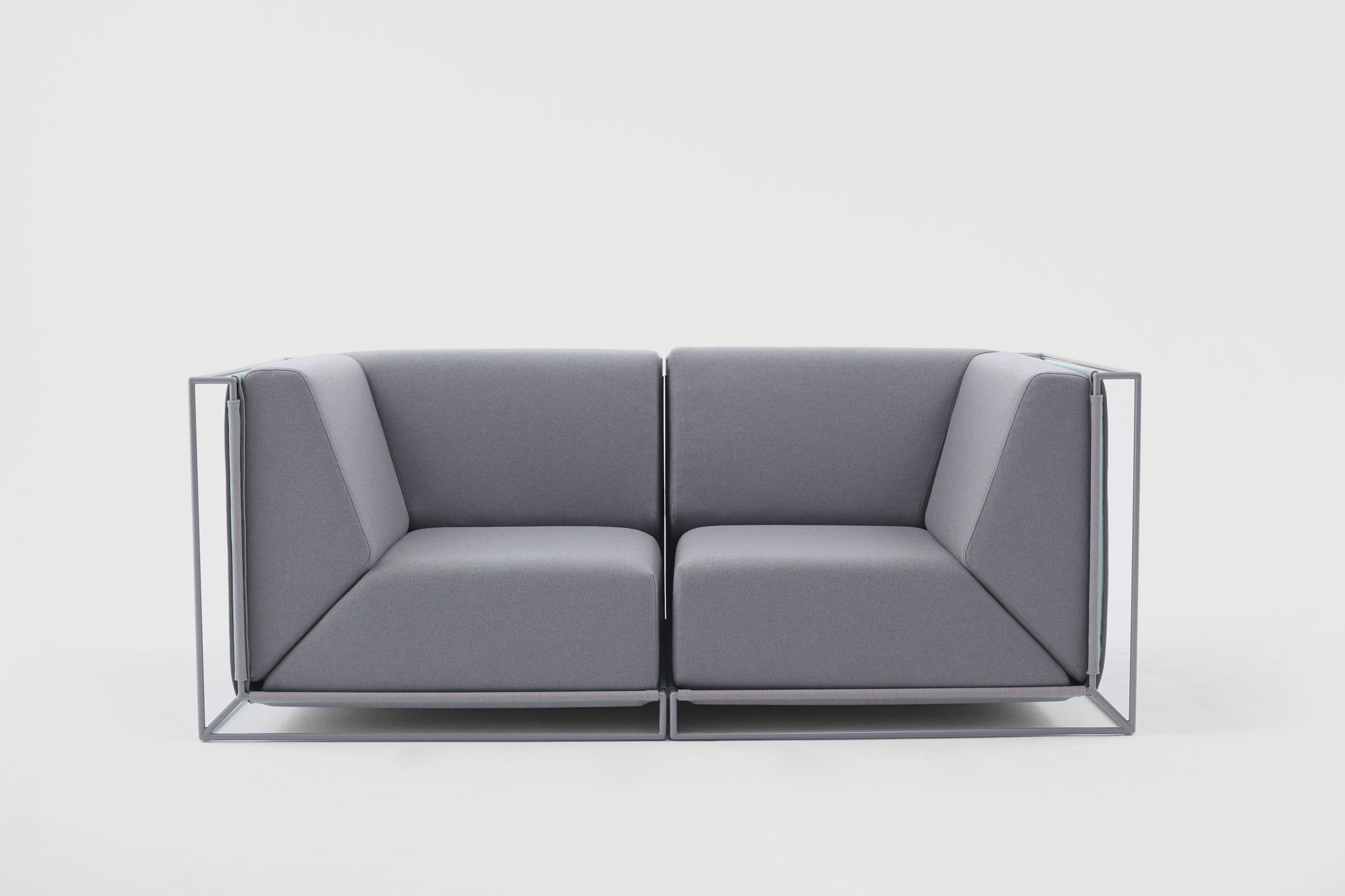 Amazing Modular Sofa / Contemporary / Fabric / By Philippe Nigro   FLOATING Photo