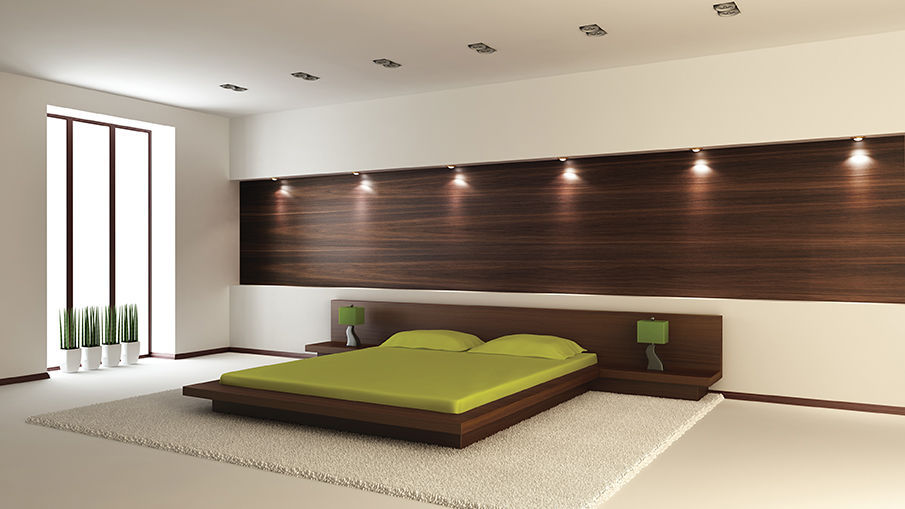 decorative panel / wood / plywood / wall-mounted - ombre & relief