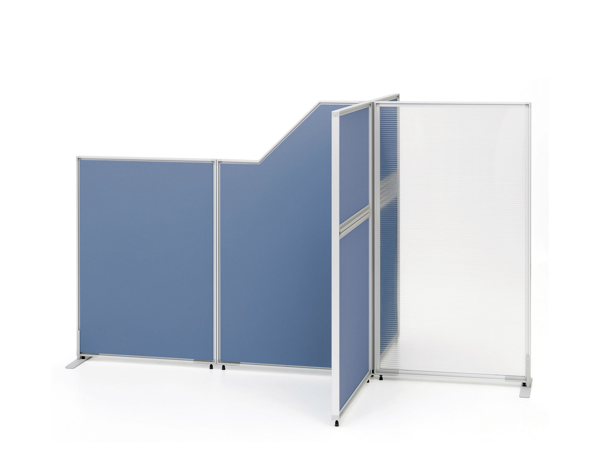 office divider wall. Floor-mounted Office Divider / Steel Wall