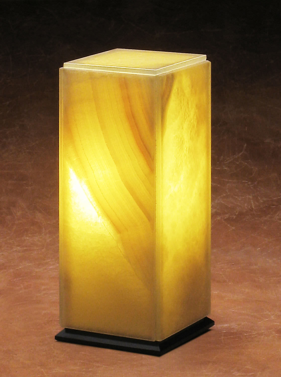 Table lamp contemporary stone translucent marble translucent table lamp contemporary stone translucent marble translucent onyx mozeypictures Images