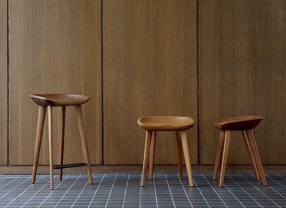 Scandinavian design bar stool / wooden / contract / outdoor TRACTOR SERIES by BassamFellows Atelier Courbet ... & Scandinavian design bar stool / wooden / contract / outdoor ... islam-shia.org