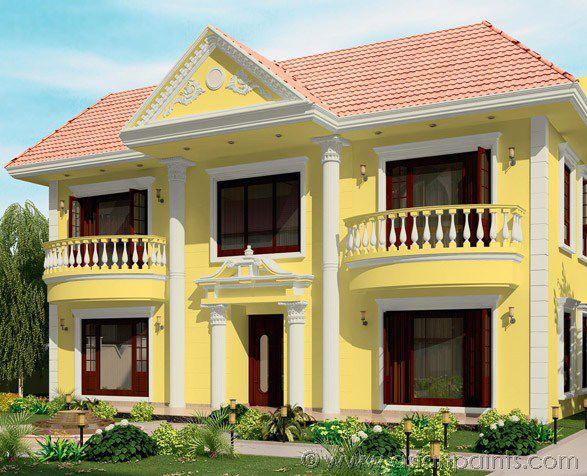 Decorative paint / for walls / exterior / acrylic - APEX DURACAST ...