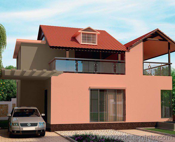 ... Decorative Paint / For Roofs / Exterior / Acrylic APEX TILE GUARD ASIAN  PAINTS