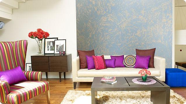 ... Decorative paint / for walls / interior / metallic effect DAPPLE ASIAN  PAINTS ...