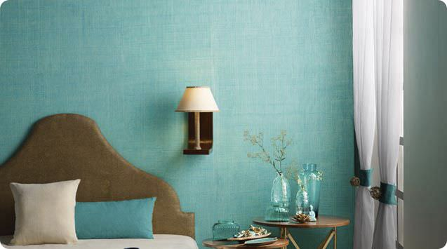 Decorative paint for walls interior effect JUTE ASIAN PAINTS