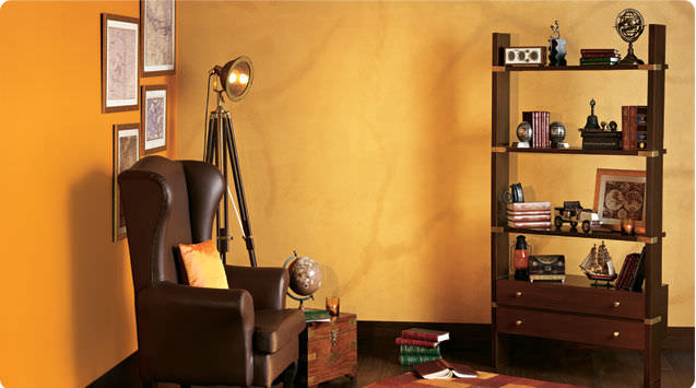 Decorative paint for walls interior effect LEATHER ASIAN