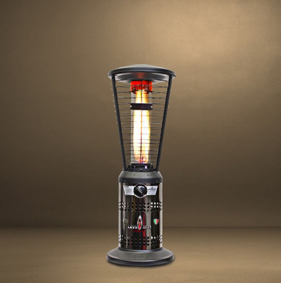 Free Standing Infrared Patio Heater / Gas EMBER MINI Lava Heat Italia ...