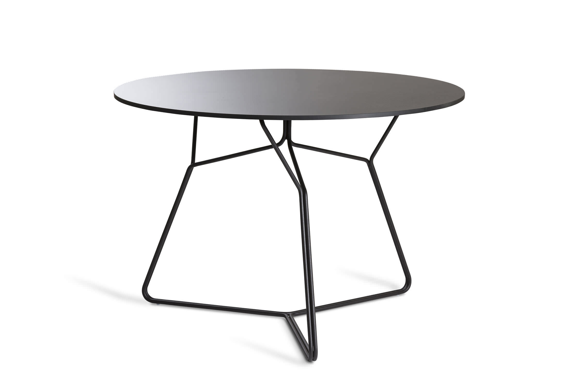 Round Garden Dining Table Part - 50: Contemporary Dining Table / HPL / Round / Garden - SERAC By Mark Gabbertas