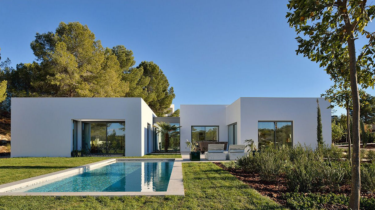 Standard model house contemporary two story san miguel de salinas by woods bagot
