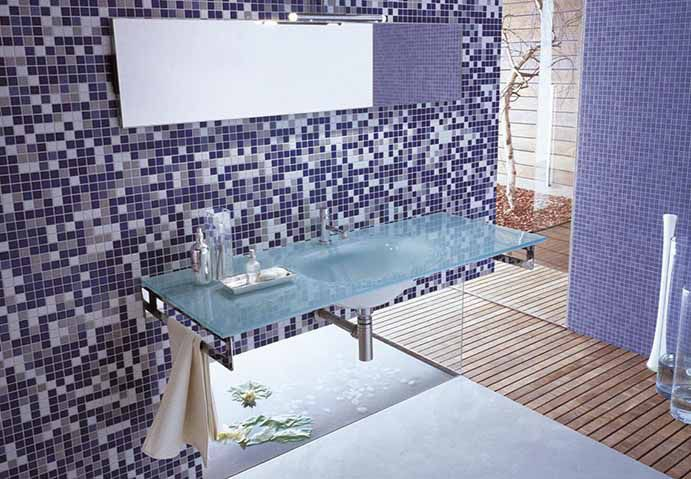 Indoor mosaic tile / bathroom / floor / ceramic - APPIANI MIX - NEMO ...