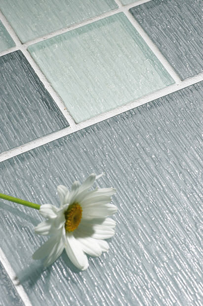 Indoor Tile Floor Glass Plain Cello Nemo Tile