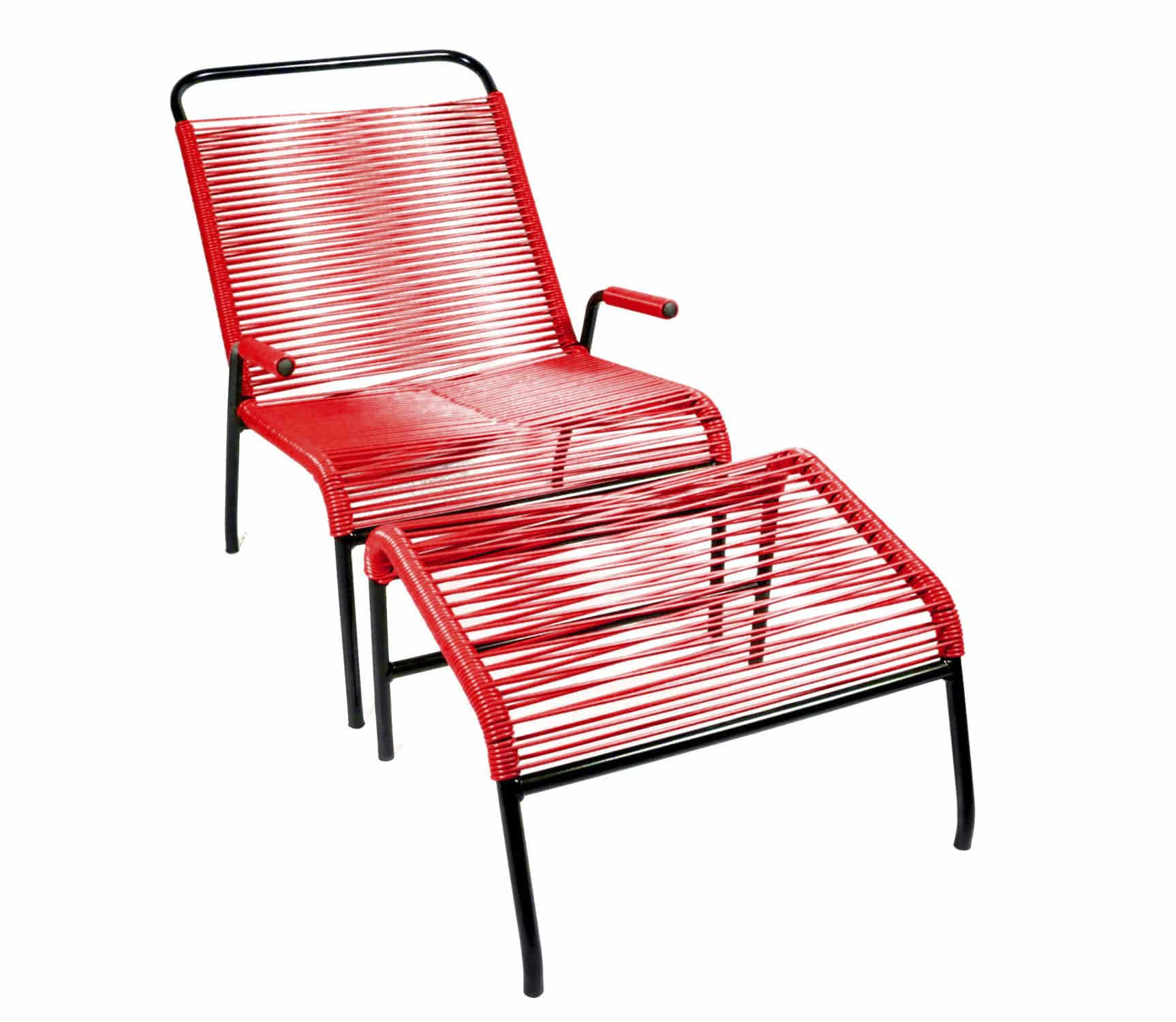 Scandinavian Design Armchair Plastic Steel With Armrests