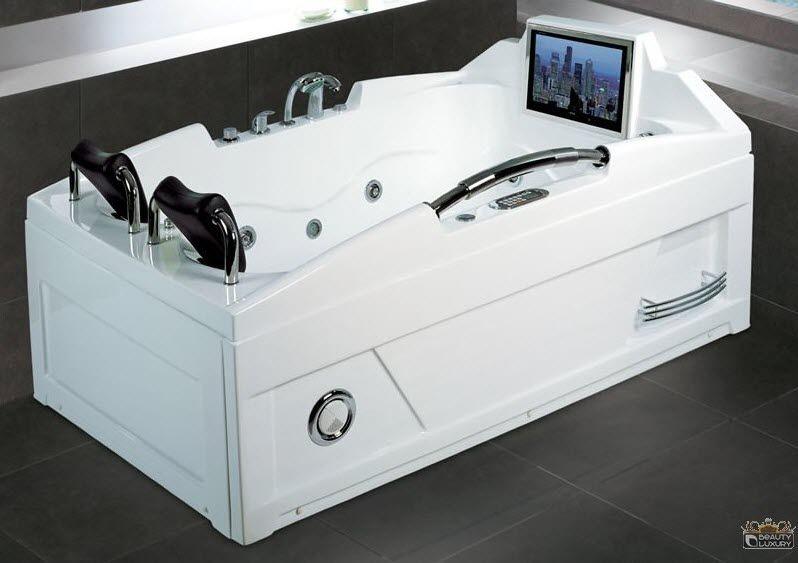 acrylic bathtub / whirlpool / double - bl-520 - beauty luxury, Hause ideen