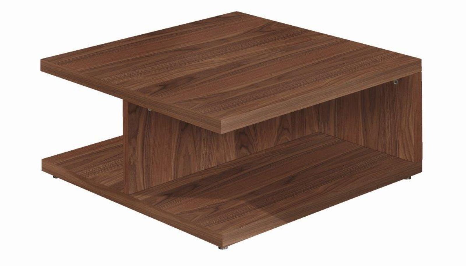 Contemporary coffee table walnut lacquered glass square contemporary coffee table walnut lacquered glass square now geotapseo Gallery