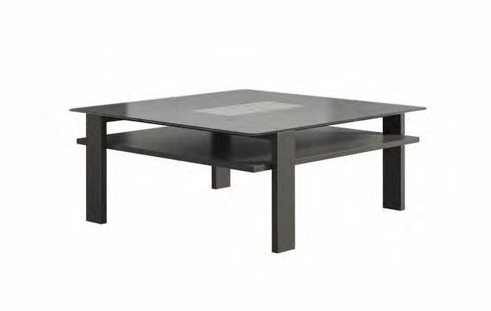 VISION : CT; Contemporary Coffee Table / Walnut / Lacquered Wood / Lacquered  Glass NOW! VISION : CT