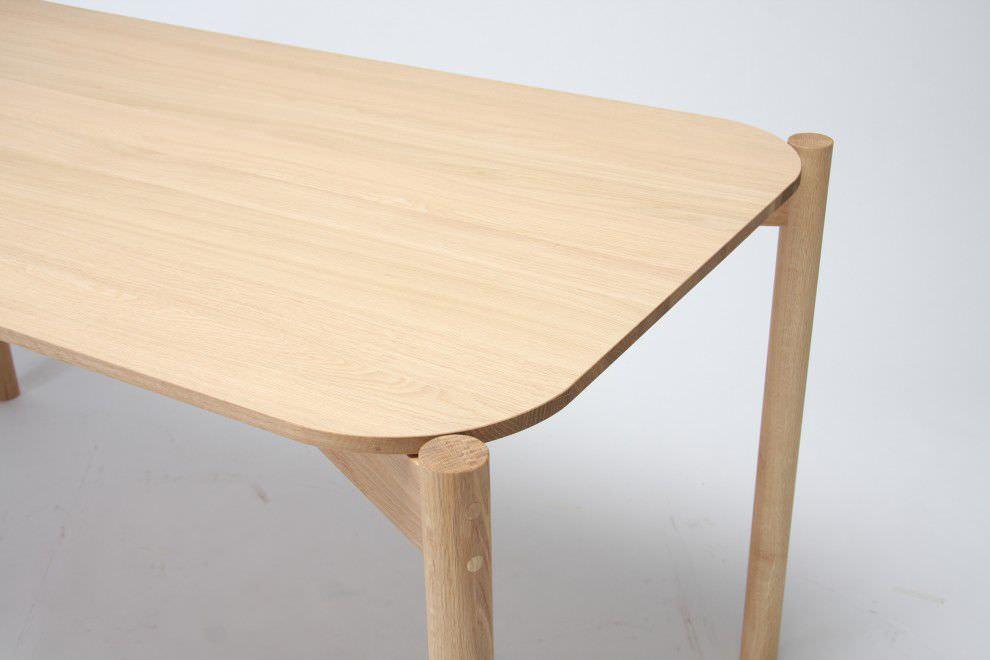 ... Contemporary Dining Table / Oak / Rectangular / For Restaurants ...