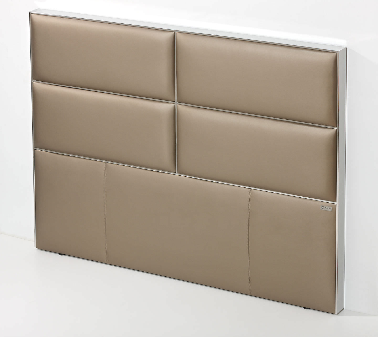 Double Bed Headboard Contemporary Fabric Upholstered Dreams