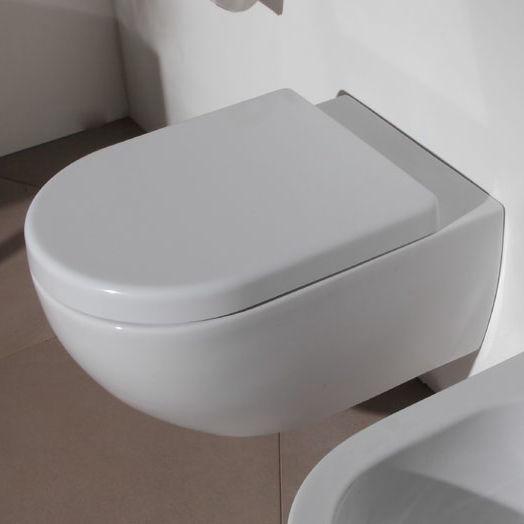 Bathroom App wall-hung toilet / ceramic - app: ap118 - flaminia