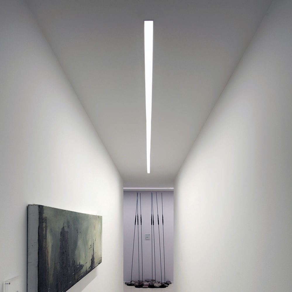 Built In Ceiling Lights: Ceiling lighting profile / built-in / LED / dimmable - OVVIO DISPLAY  FRAMELESS,Lighting