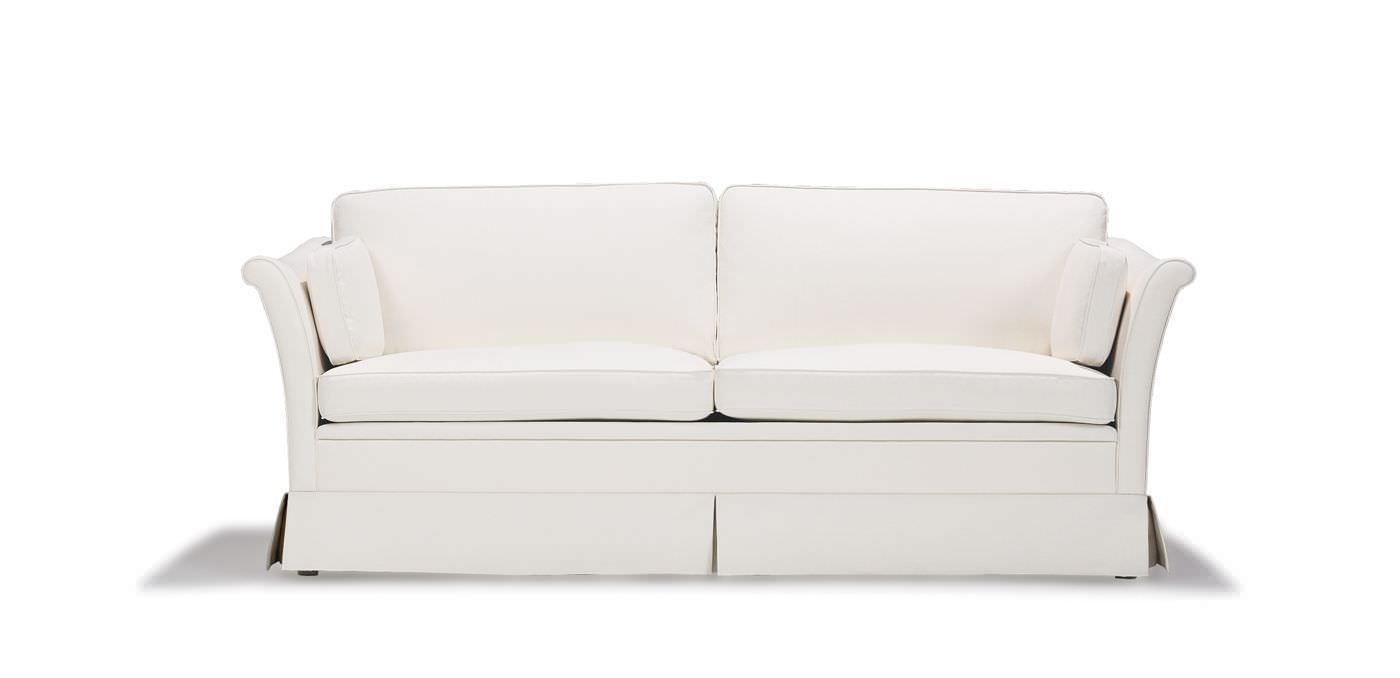 Traditional sofa fabric 2seater with removable cover
