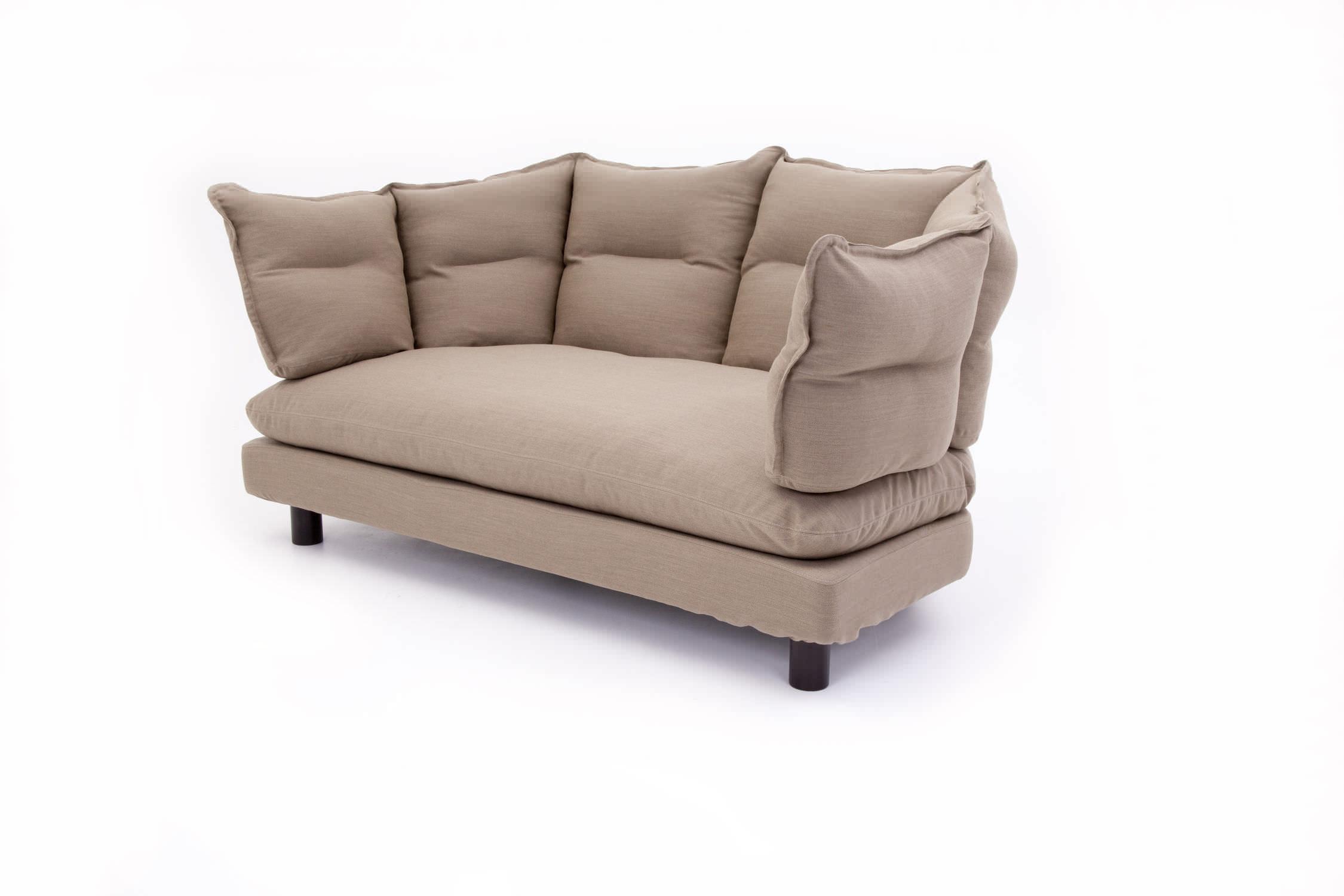 contemporary sofa / fabric / by inga sempe / 3-seater - enveloppe, Hause deko