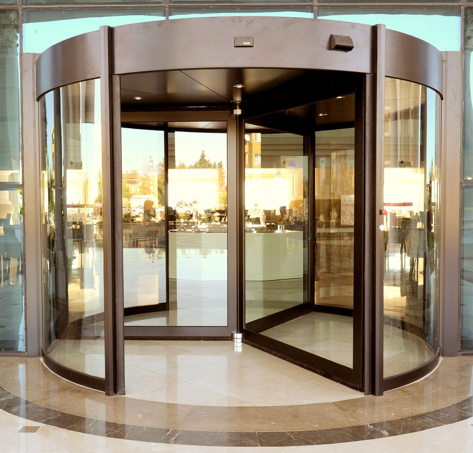 Revolving door / entry / aluminum / security MAXI Edora Automatic Door Systems ... & Revolving door / entry / aluminum / security - MAXI - Edora ... Pezcame.Com