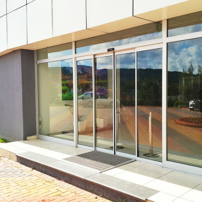 Glass Sliding Door System Automatic Edora Automatic Door Systems