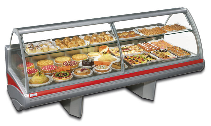 refrigerated display counter / for shops - maxima modular pa