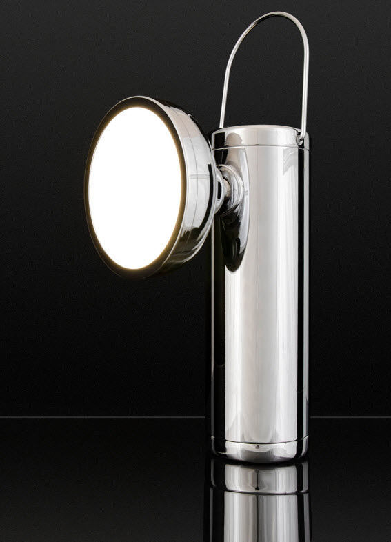Table lamp contemporary aluminum