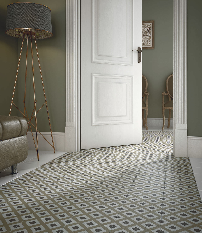 Bathroom Tile Floor Bathroom Tile Floor Ceramic Geometric Pattern Caprice Deco