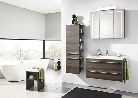 Schön Free Standing Washbasin Cabinet / Wall Hung / MDF / Contemporary LEONARDO  BAD 109 ...