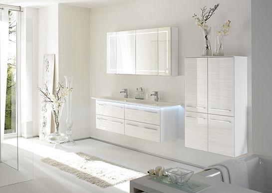 ... Wall Hung Washbasin Cabinet / MDF / Contemporary / With Drawers LEONARDO  BAD 112 Pelipal ...
