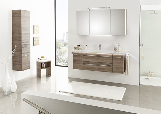 Elegant ... Wall Hung Washbasin Cabinet / MDF / Contemporary / With Drawers LEONARDO  BAD 112 Pelipal