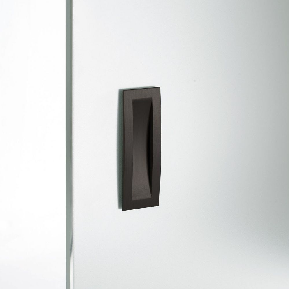 Sliding Door Pull Handle / Contemporary / Recessed   SLIDING DOOR   FLUSH  HANDLE