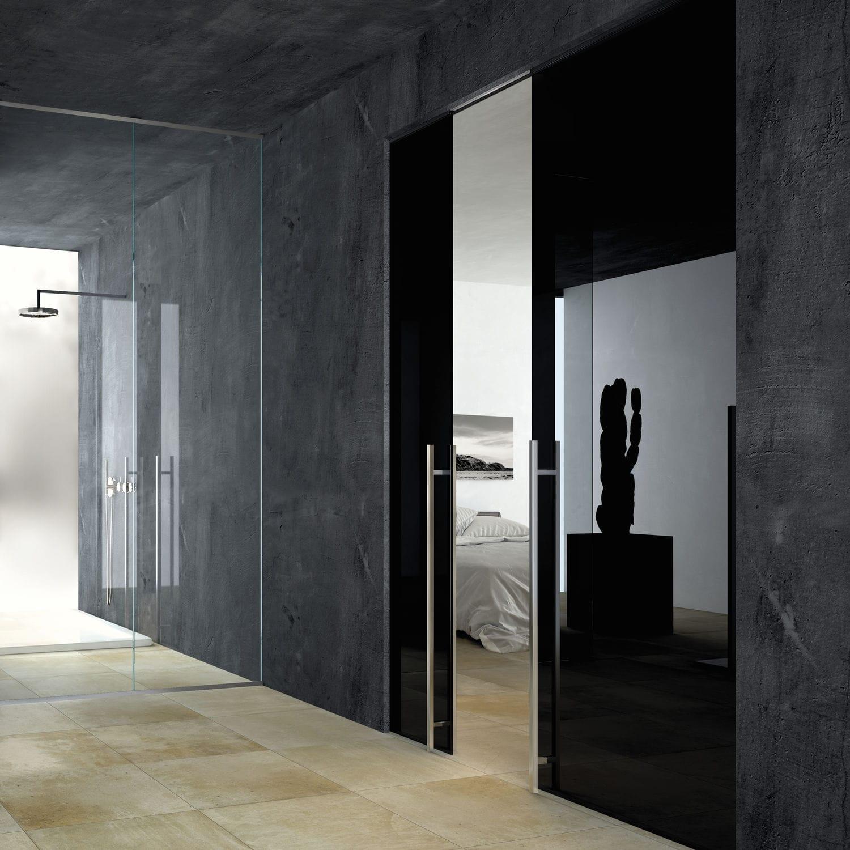 Indoor Door Sliding Gl Glazed Disearing Vitra Line
