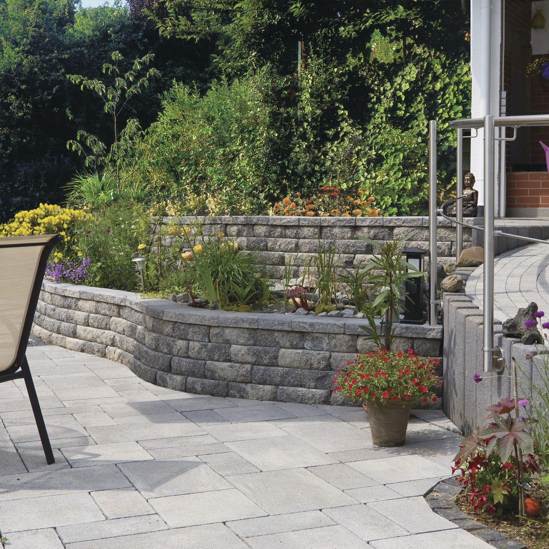 Stone retaining wall modular for garden enclosures WINDSOR