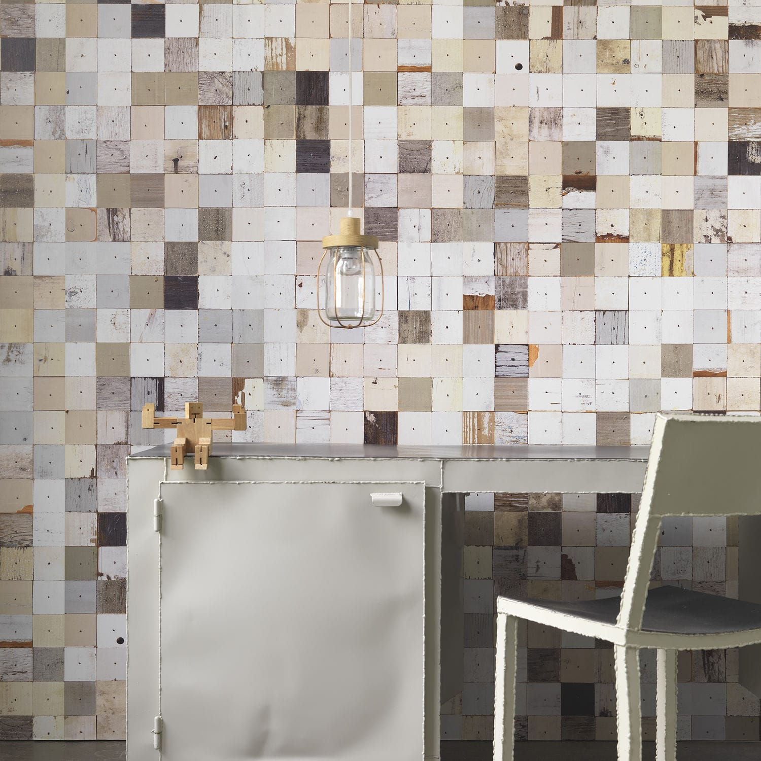 Contemporary wallpaper rustic patterned non woven PHE 16