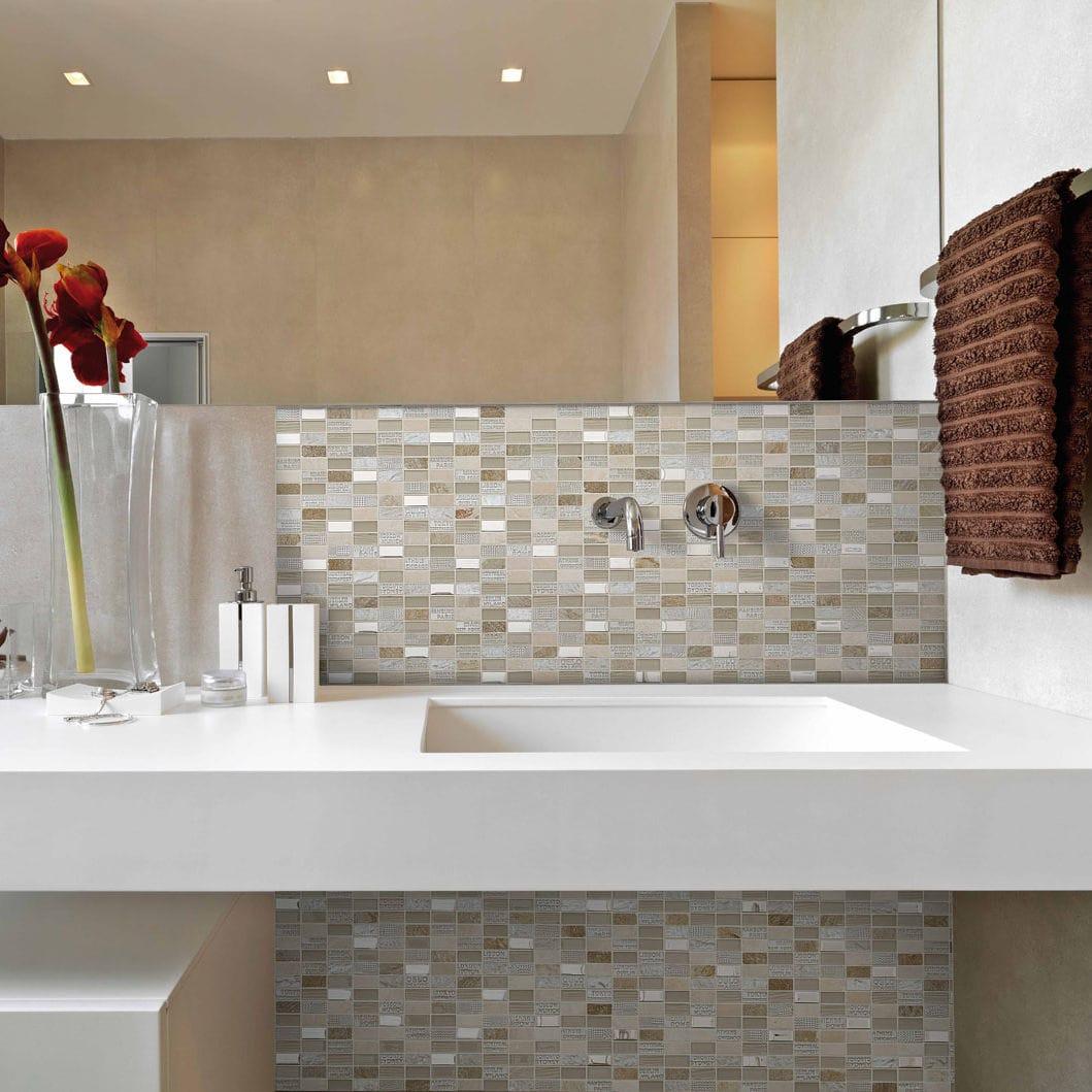 Bathroom Mosaic Tile Kitchen Wall Marble City