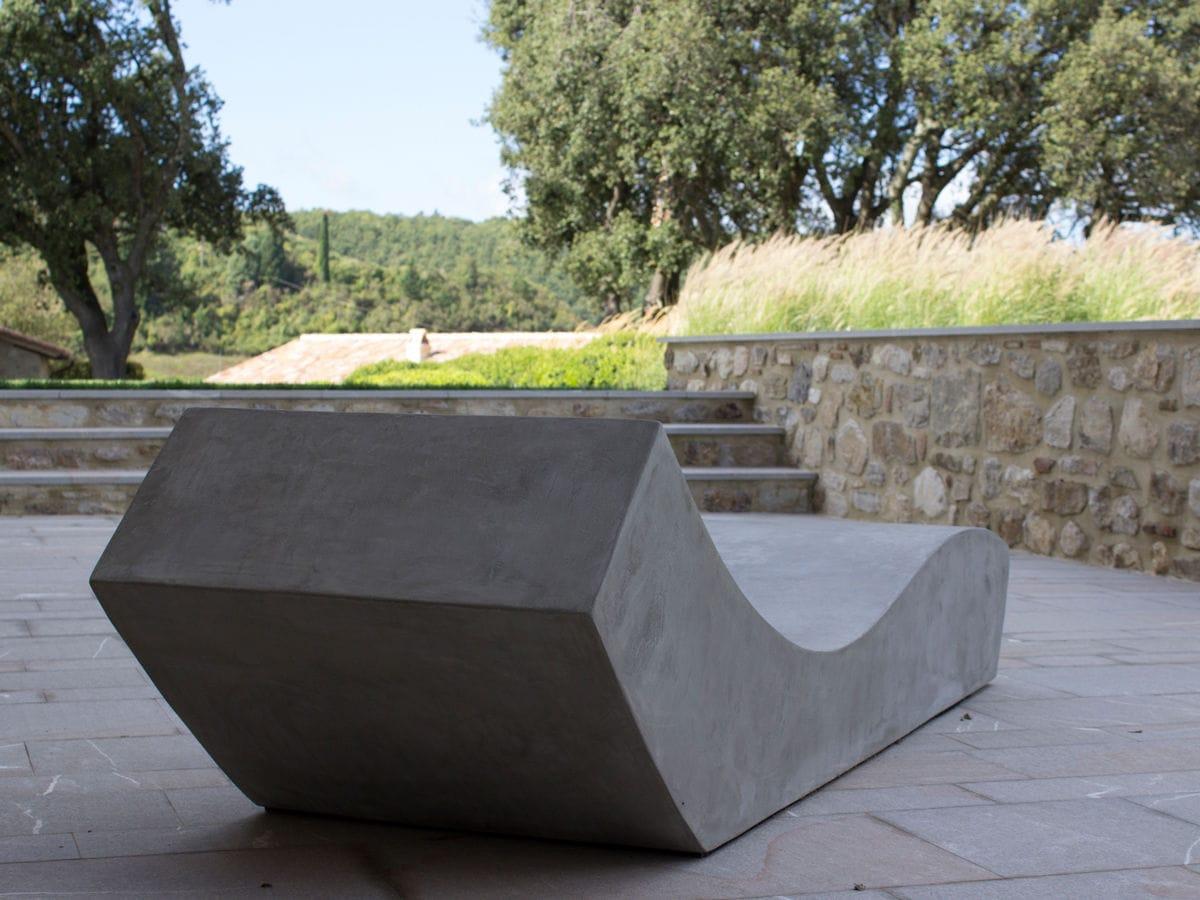 ... Contemporary Sun Lounger / Cement / Garden / Patio CUT.4 LOVECEMENT ...