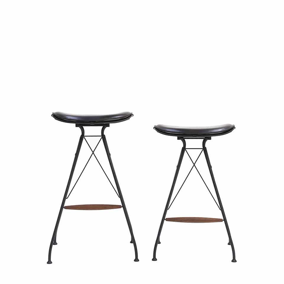 contemporary bar stool  leather  wire  upholstered wire overgaard dyrman . contemporary bar stool  leather  wire  upholstered  wire