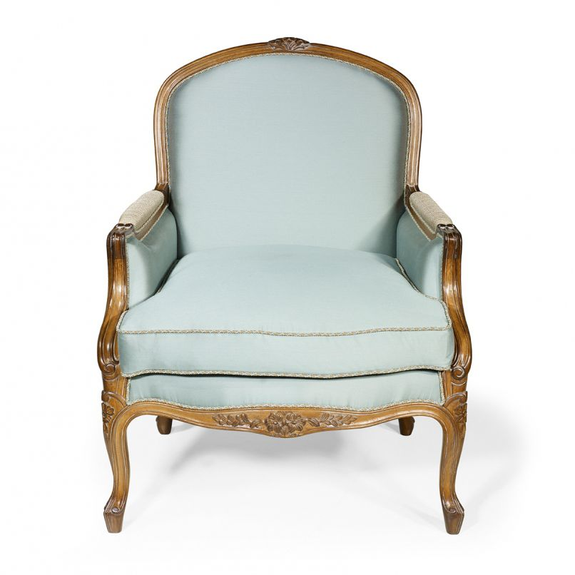 French Style Armchair / Oak / Mahogany / Cherrywood   PRESIDENTE : De Style