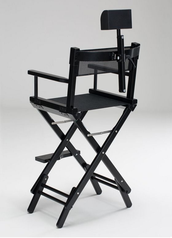 Adjustable Makeup Chair / With Headrest / Folding / With Footrest ...