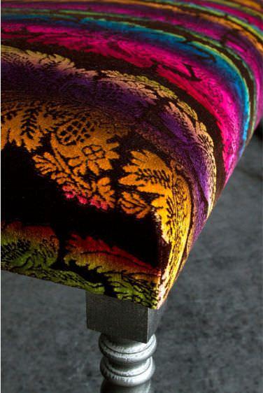 Upholstery Fabric Patterned Velvet Baroque Caserta Luciano