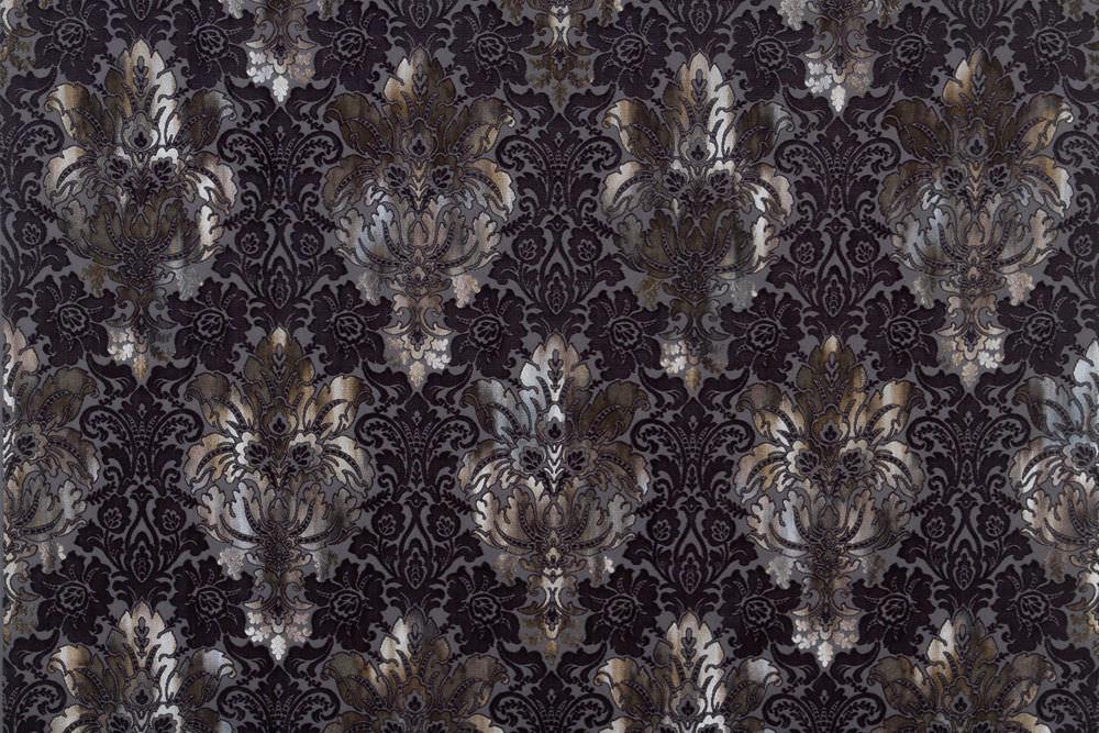 Upholstery Fabric Patterned Velvet BAROQUE CASANOVA Luciano Fascinating Patterned Velvet Fabric