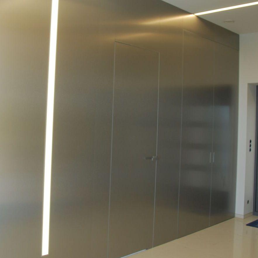 Indoor Door / For Walk In Closet / Swing / Aluminum   LAMINATES