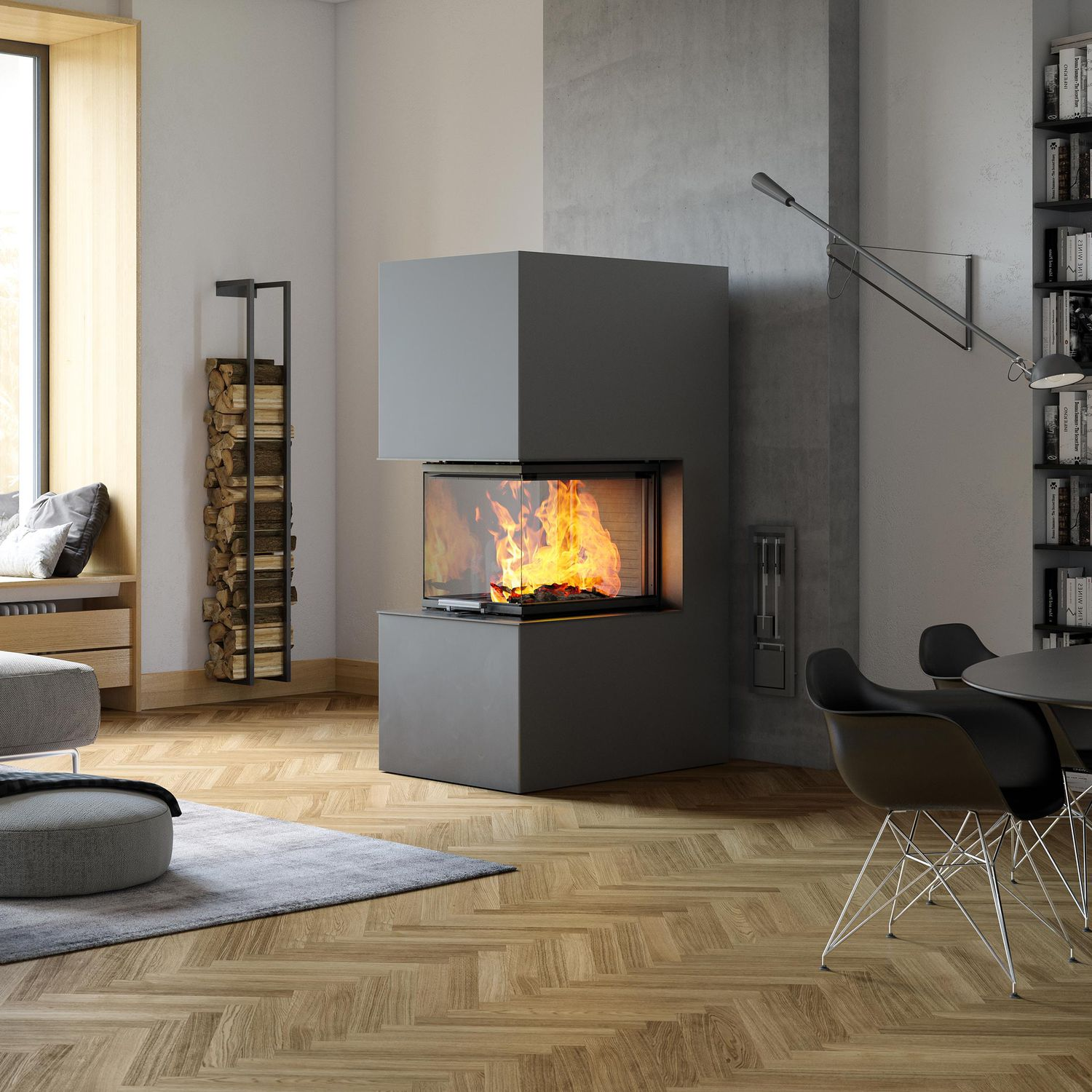 sided contemporary dru fireplace gas product closed prod metro hearth