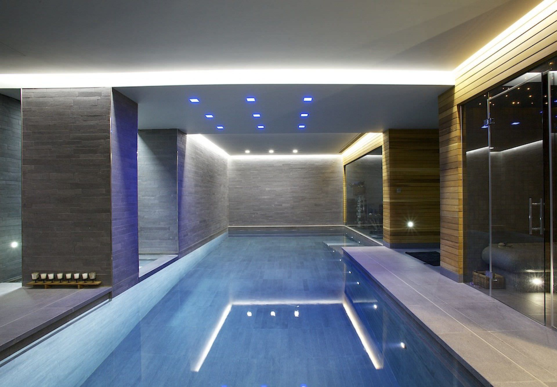 In Ground Swimming Pool / Concrete / Indoor